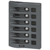 PANEL DC 6 POSITION GRAY