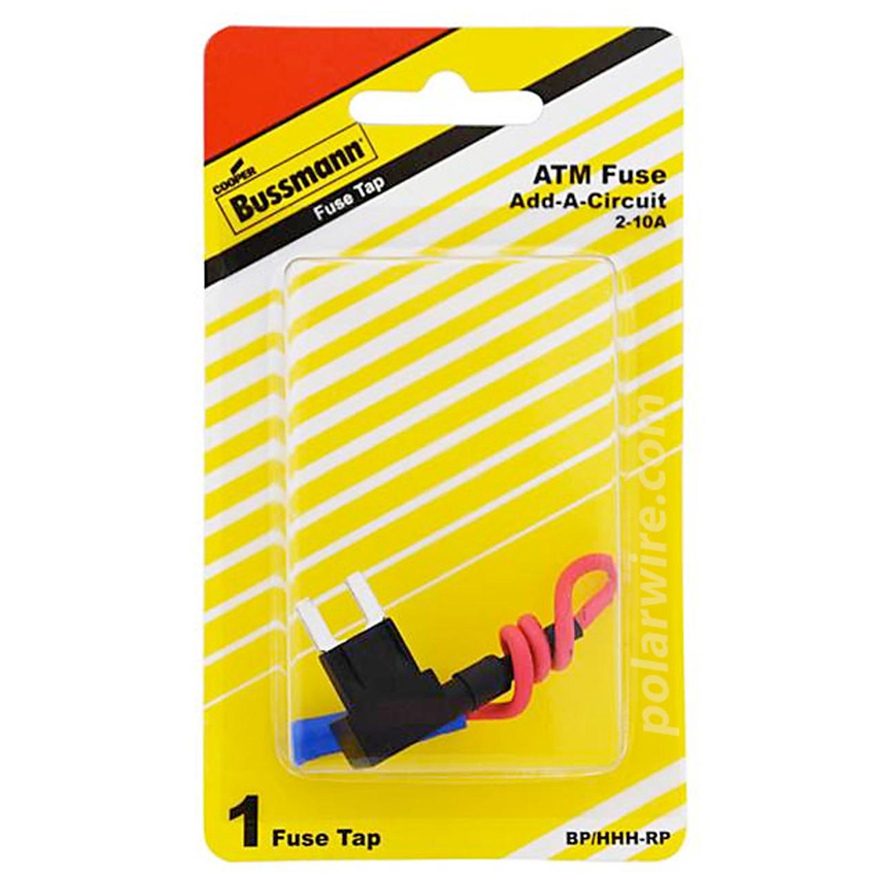 ATM 2-10A ADD-A-LINE CIR ATM FUSE PIGGYBACK 2 ATMS
