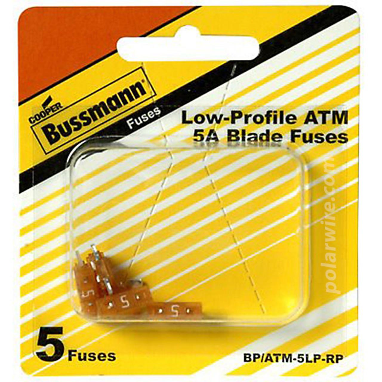 FUSE 5 AMP LOW PROFILE ATM MINI-BLADE FUSE 5 PK