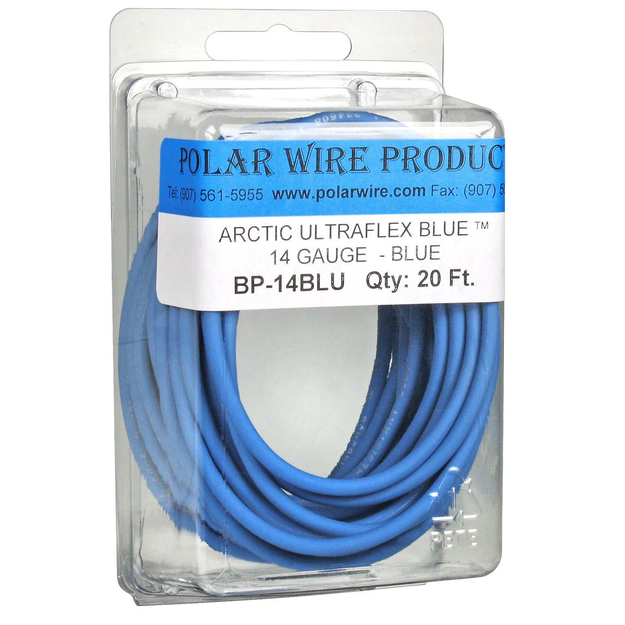 ARCTIC ULTRAFLEX 14GA BLUE  20 FOOT PACK