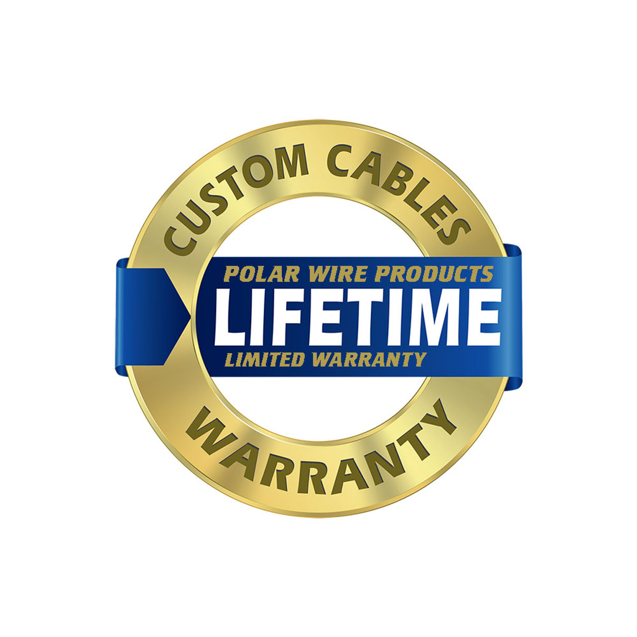 Polar Wire Arctic Superflex Blue Jumper Cable Harness modules are covered by our LIFETIME limited warranty!