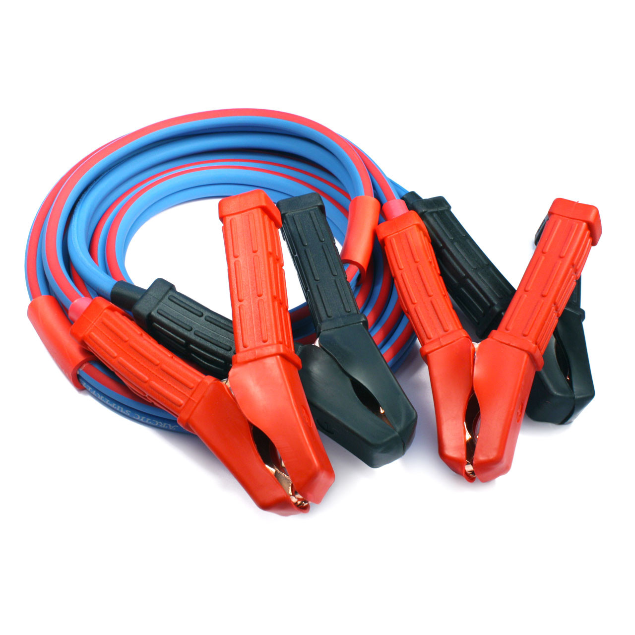 Polar Wire's ATV UTV Jumper Cables are made with Arctic Superflex Blue wire and top quality components and processes