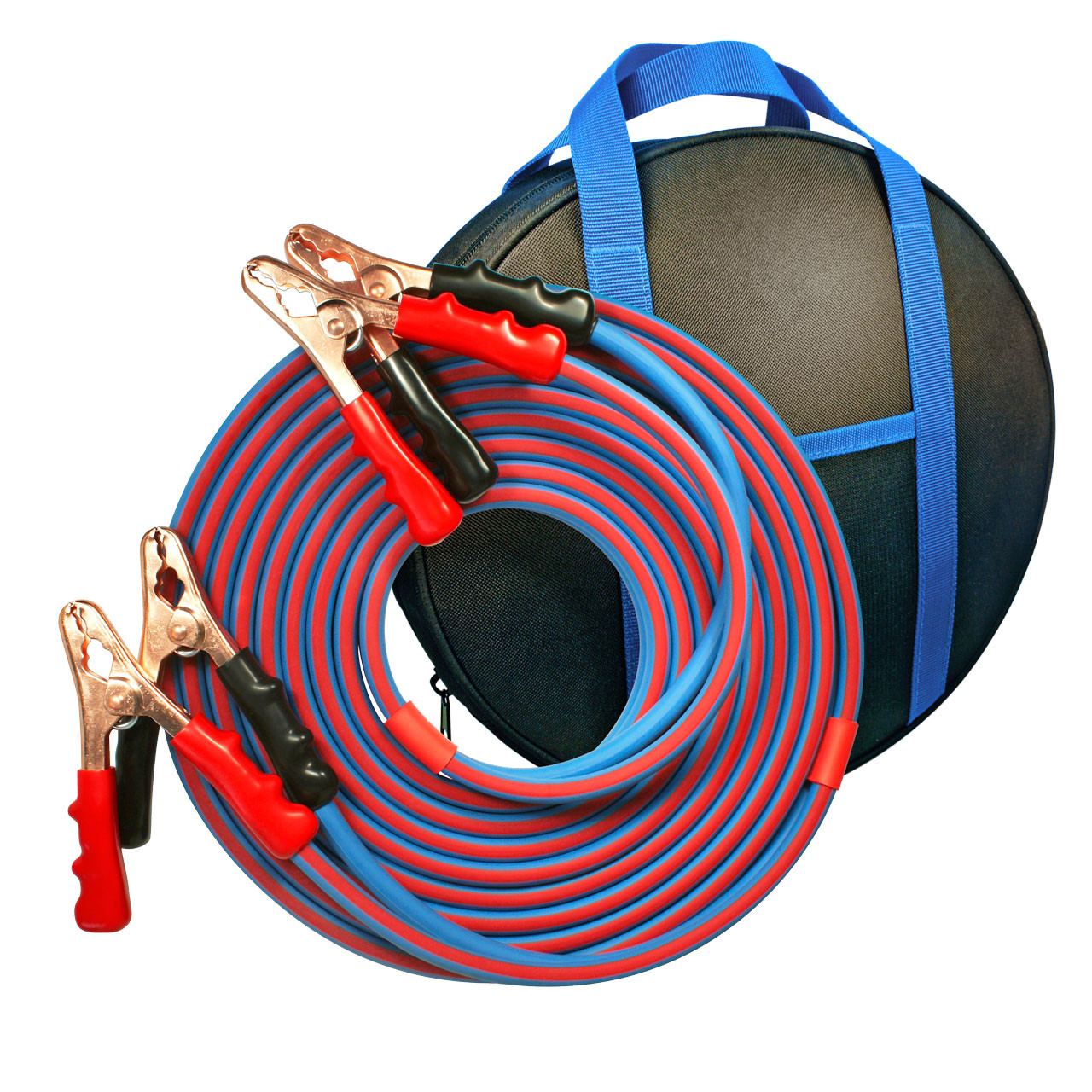25'Cold Weather Heavy Duty Jumper Cable 2 Gauge Booster