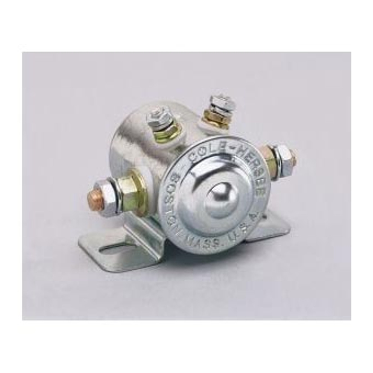 SOLENOID 12V CONTINUOUS INSULATED 85 AMP SPST
