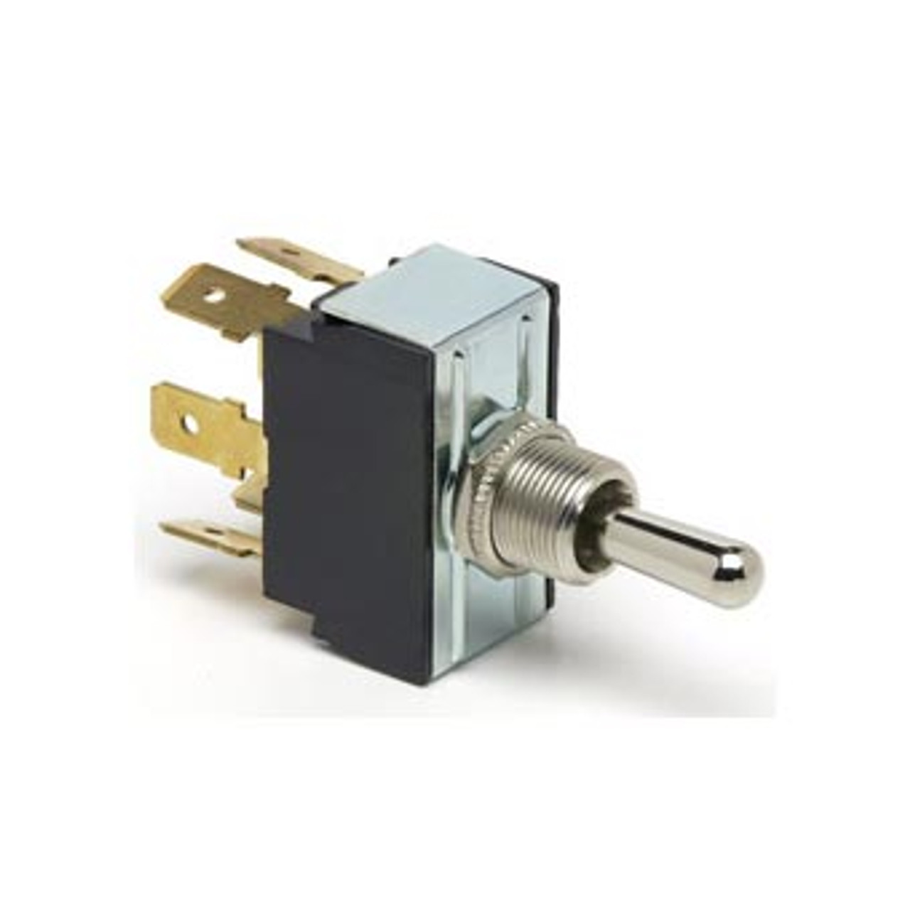 TOGGLE SWIT ON-ON 6 B/T DPDT 6 BLADE TERMINALS