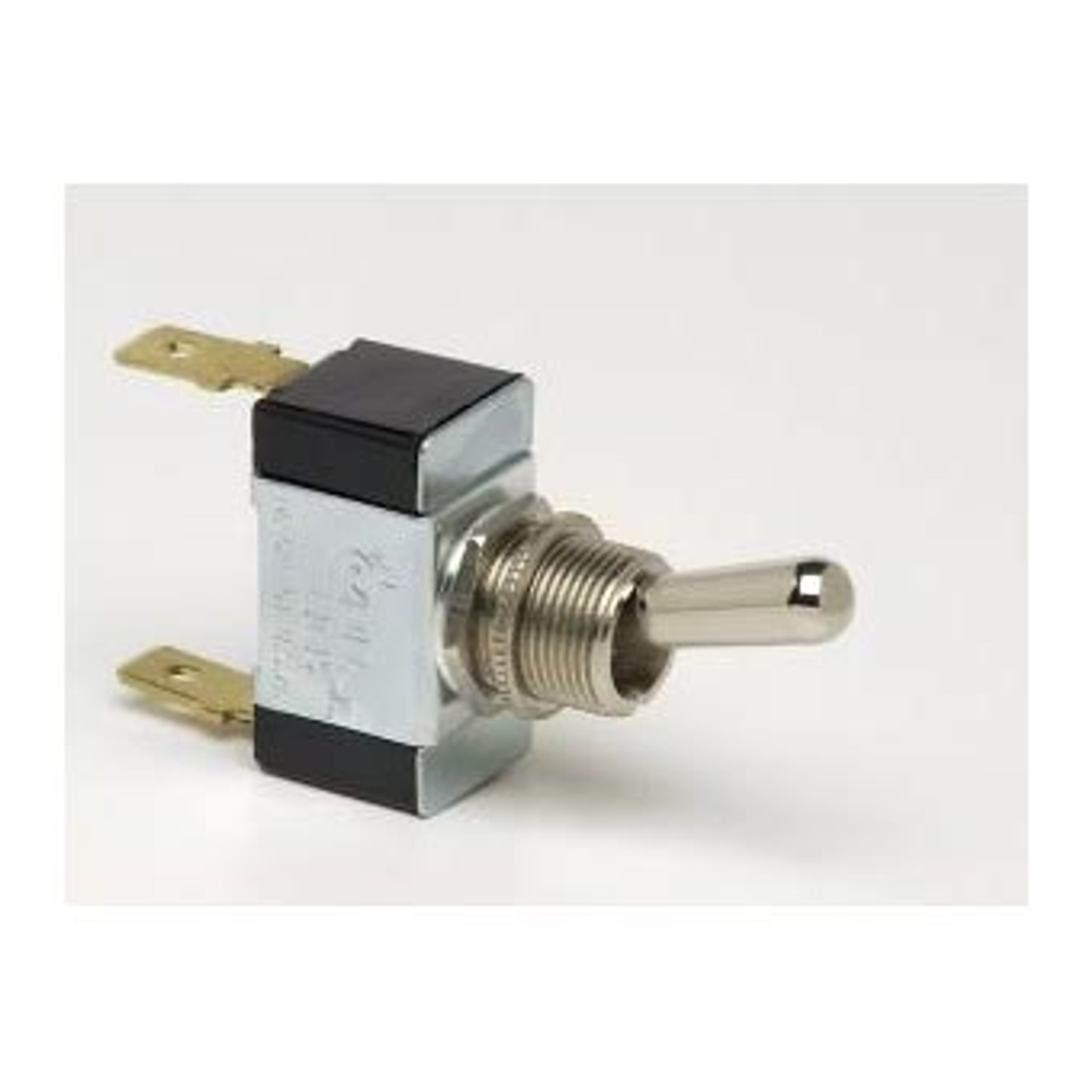 TOGGLE SWIT OFF(ON) 2 B/T SPST 2 BLADE TERMINALS