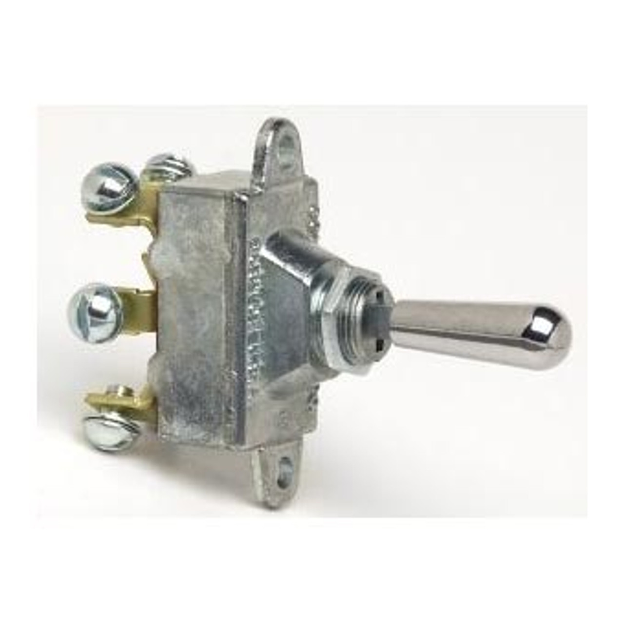 TOGGLE SWIT H/D ON-OFF-ON DPDT 30AMP METAL 6 SCREW