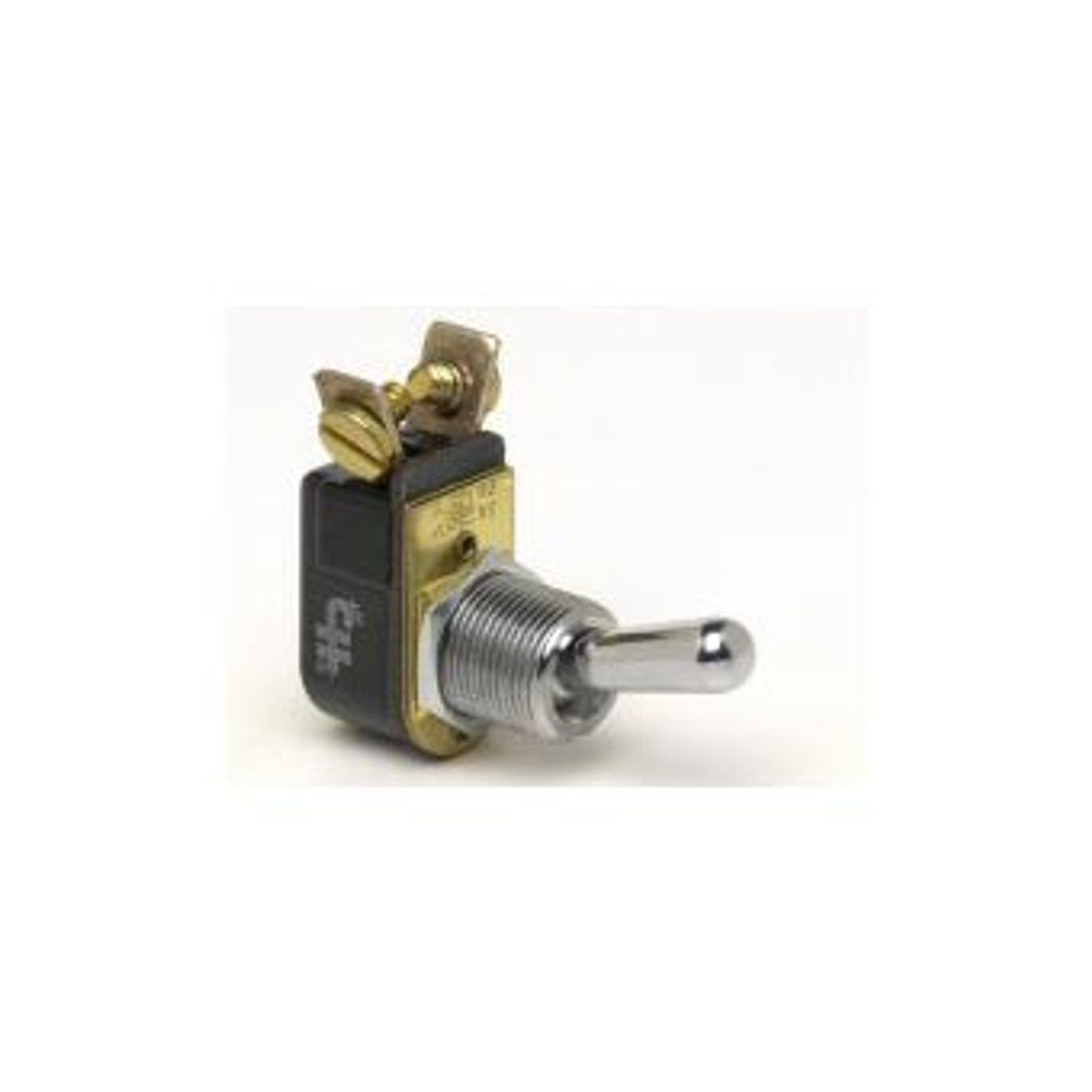 TOGGLE SWIT OFF-ON 10A 2S MED DUTY 2 SCREW BALL BAT