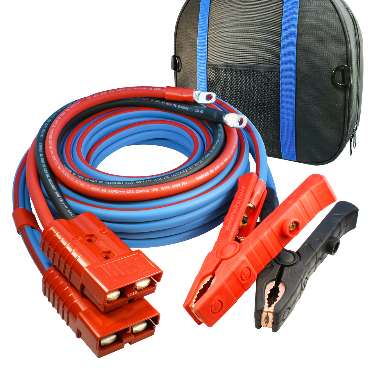 commercial heavy duty jumper cables