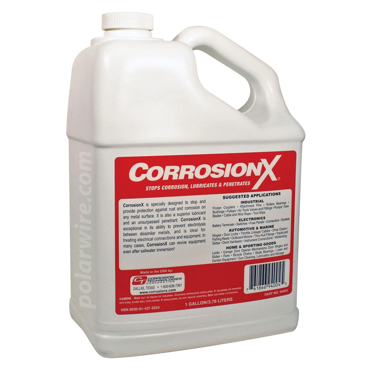 CORROSION X GALLON REFILL