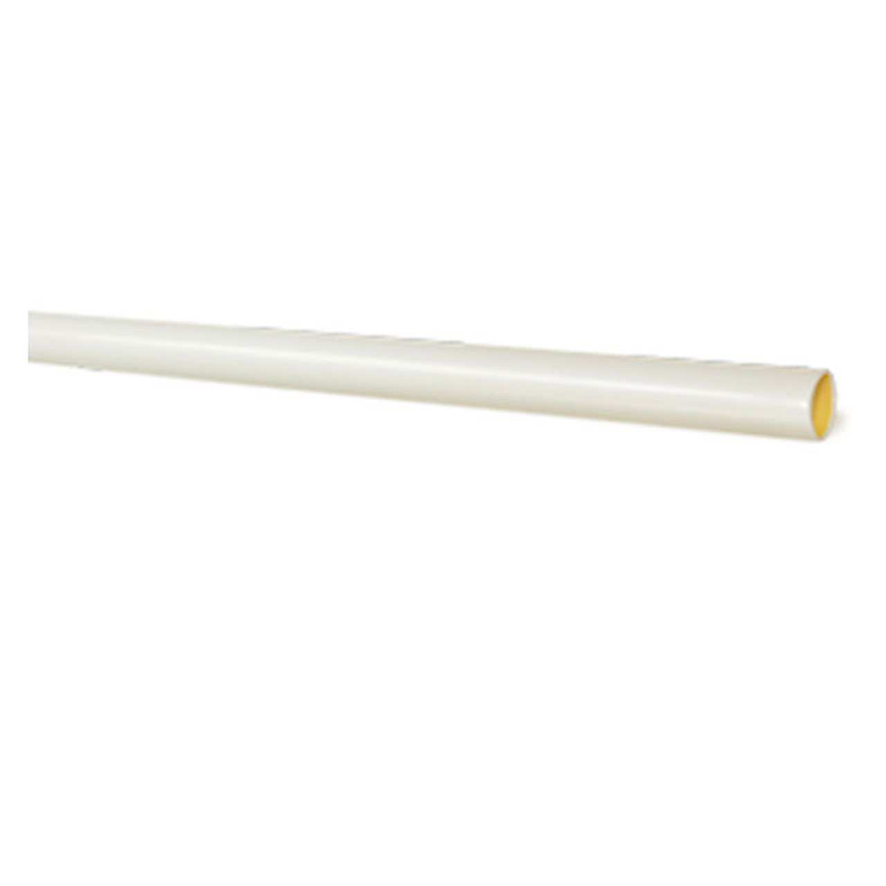 1/2 inch white adhesive lined dual wall heat shrink tubing, 48 inch length