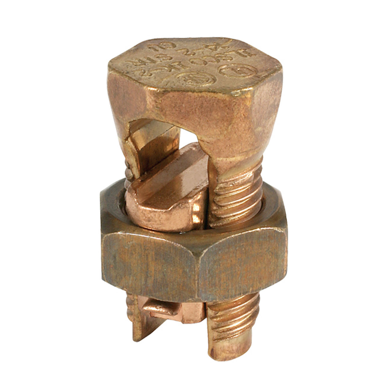 SPLIT BOLT-COPPER 1/0-14