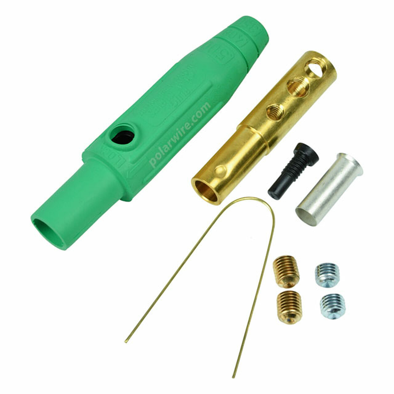 CAM LOCK 150A FEMALE GREEN 8-2 AWG