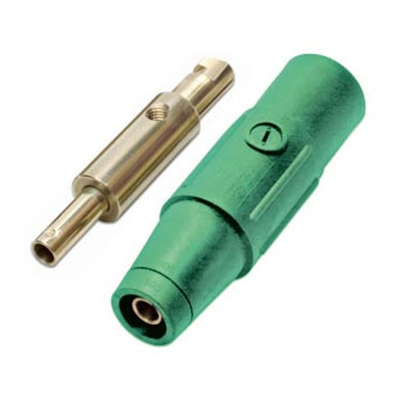 CAM LOCK 400/150A REDUCER GREEN MALE/FEMALE