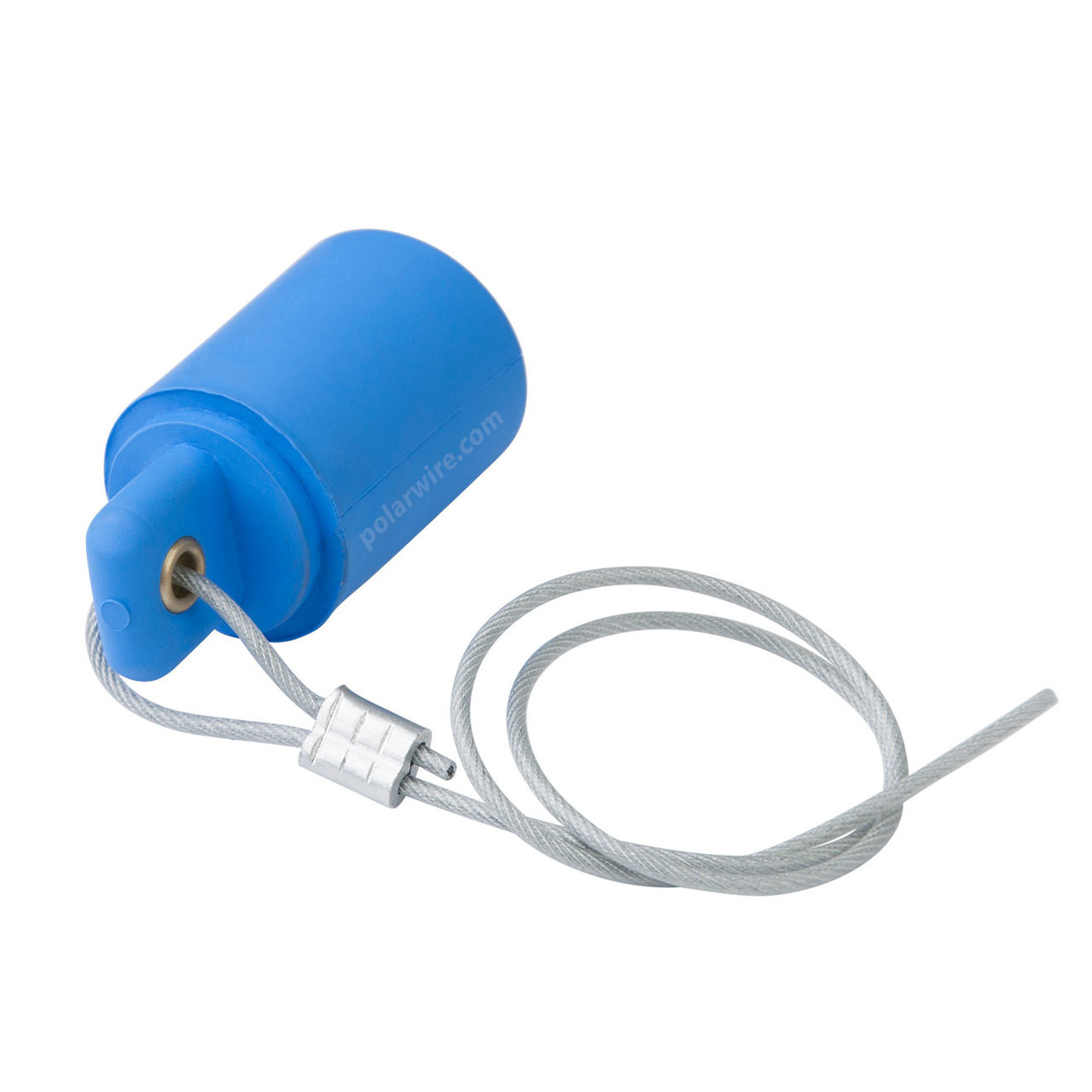 Marinco Cam Lock 400 amp blue female protective cover with 20 inch lanyard