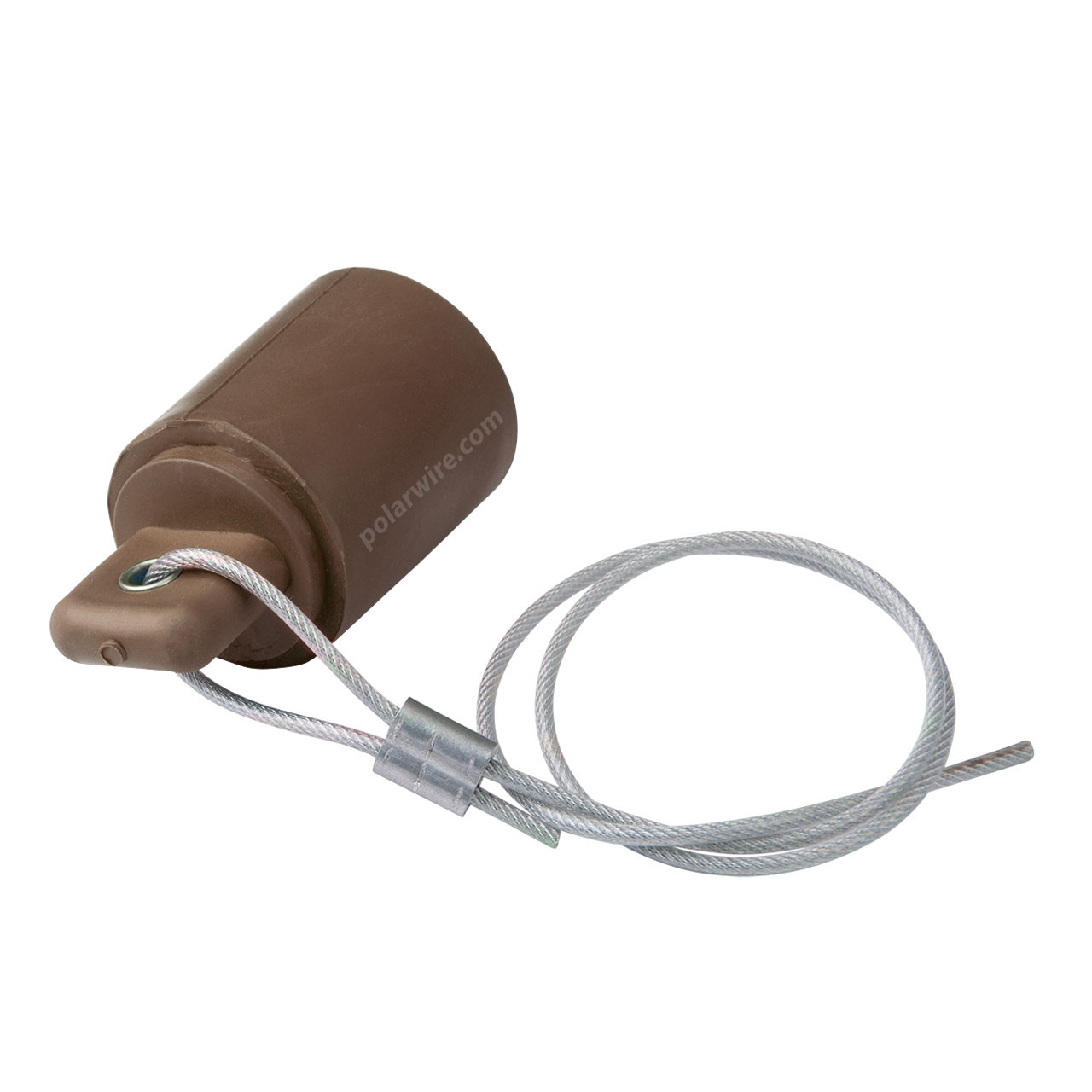 Cam Lock 400 amp brown female protective cover