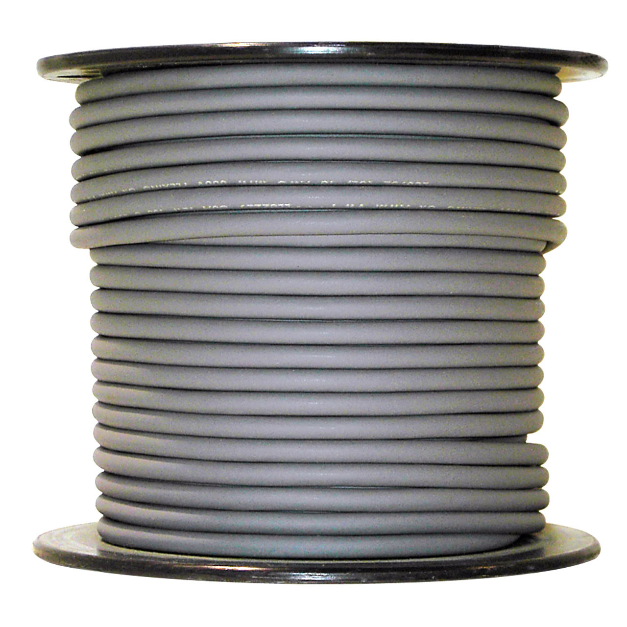 Arctic Ultraflex Blue Single Conductor Wire 100% copper tinned fine strand, 600v applications, 10 AWG Gray, 100 foot spool