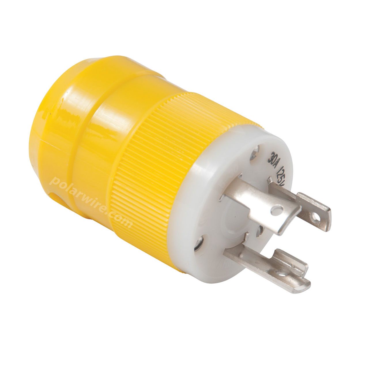 30A 125V Locking Blade Male Shore Power Plug
