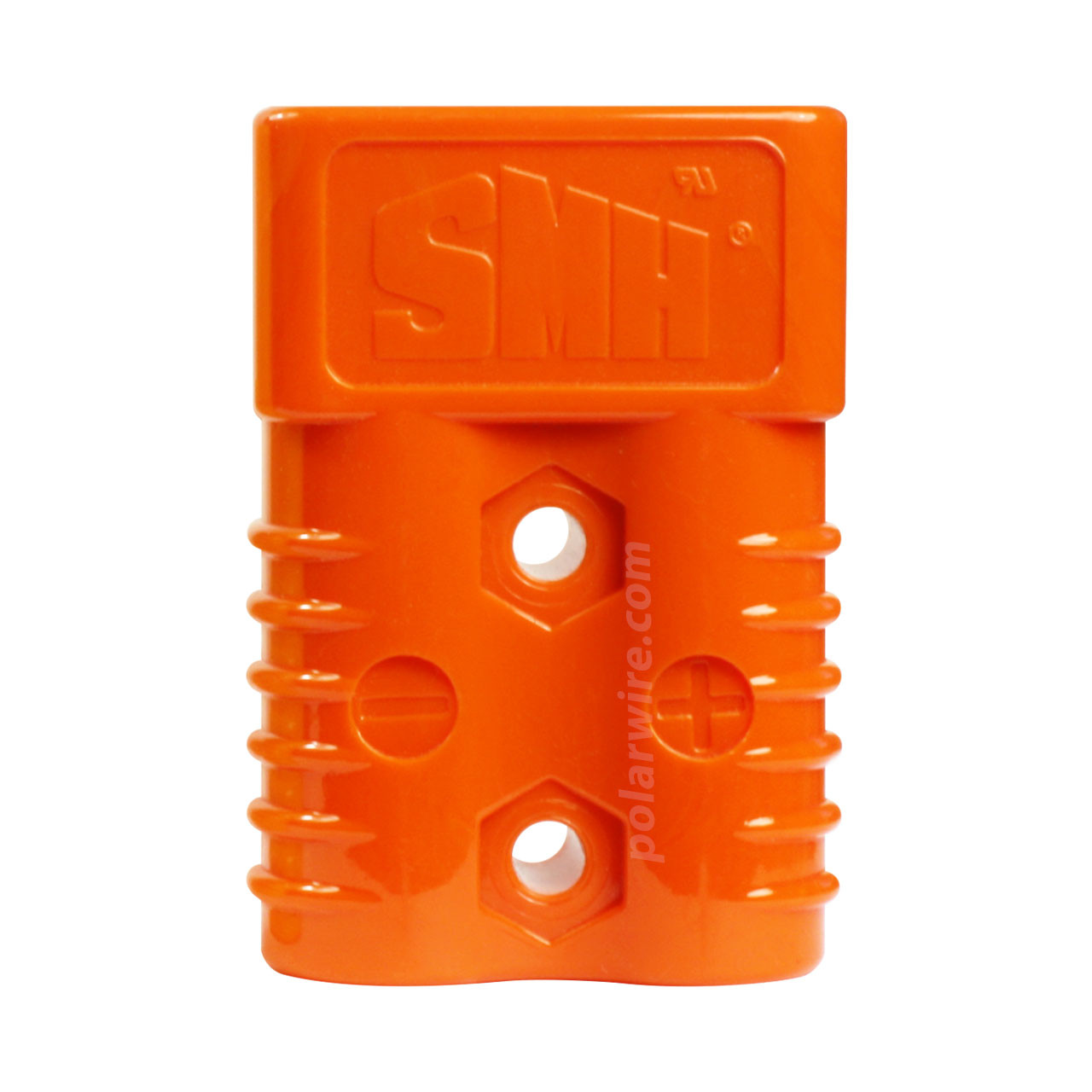 175AMP HOUSING TWIN ORANGE