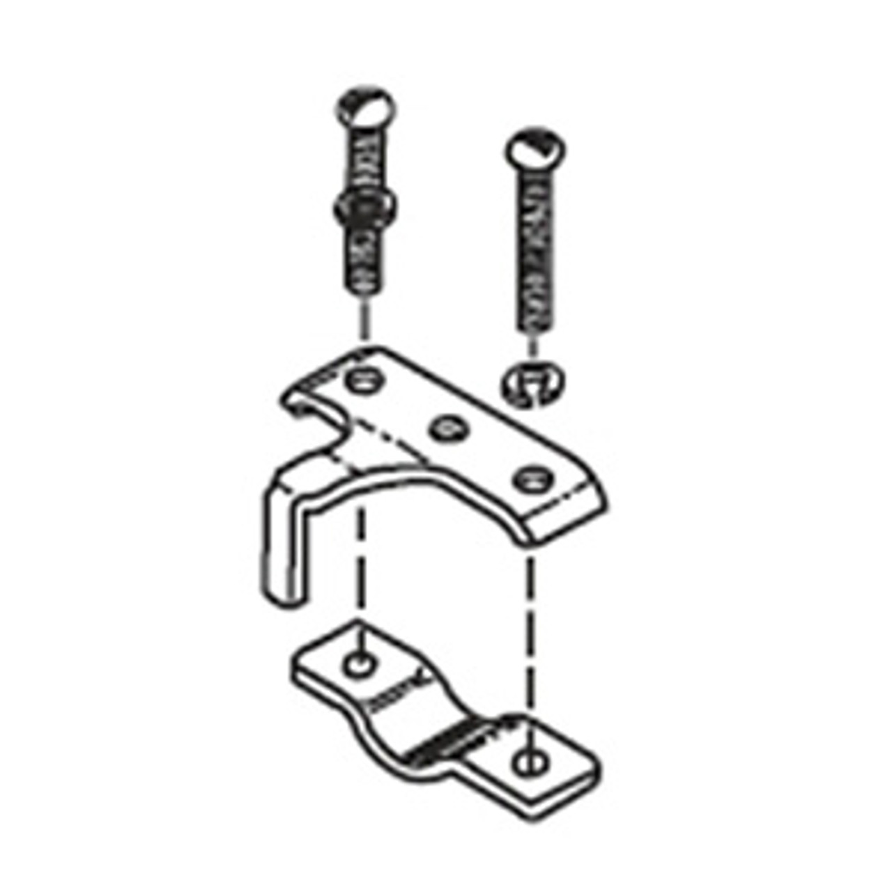 50AMP CABLE CLAMP TWIN