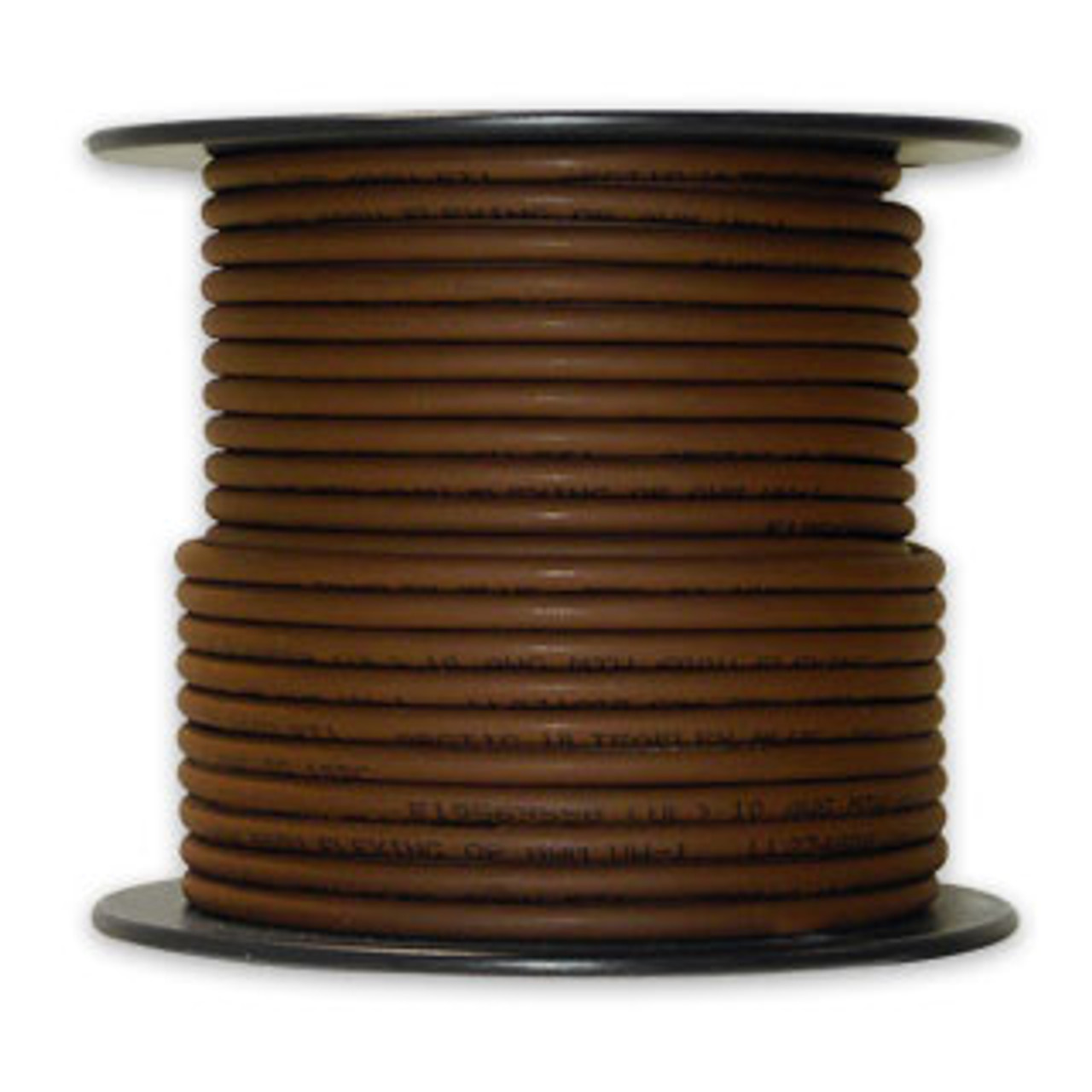 Arctic Ultraflex Cold Weather Flexible Wire 100 Foot Spool 12 AWG Brown Single Conductor Wire tinned fine strand 100% copper