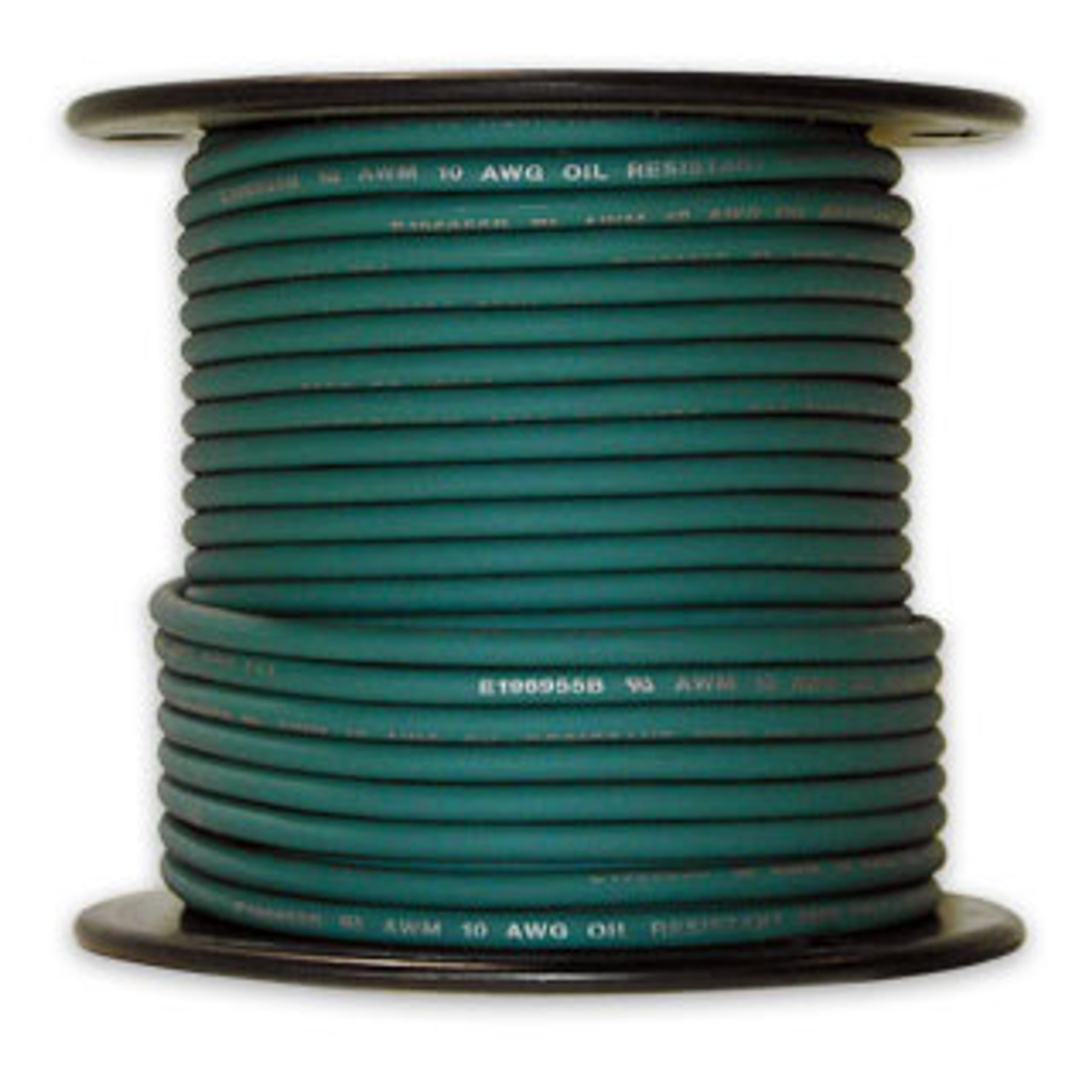 Arctic Ultraflex Cold Weather Flexible Wire 100 Foot Spool 12 AWG Green Single Conductor Wire tinned fine strand 100% copper