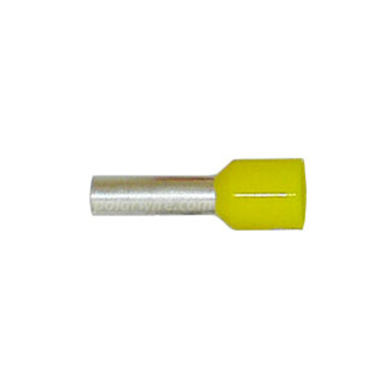 FERRULE 10GA YELLOW INSULATED 6MM