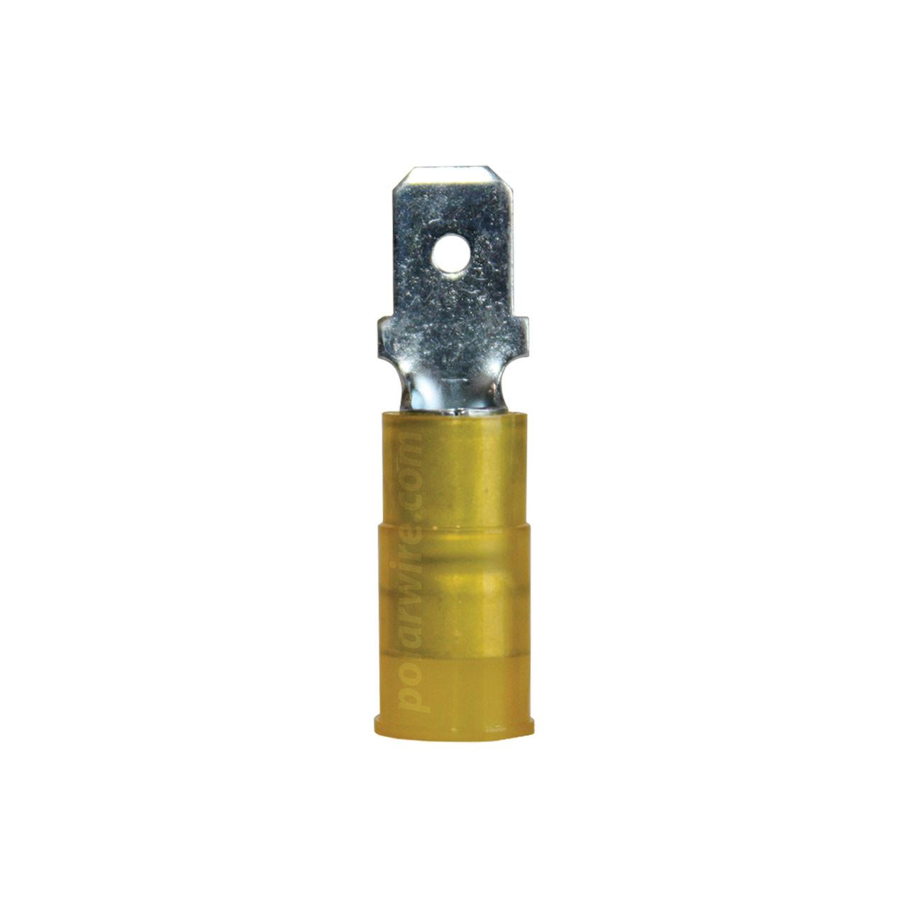 NYLON SLIDE-M 12-10GA.250  MALE 25 PACK MOLEX