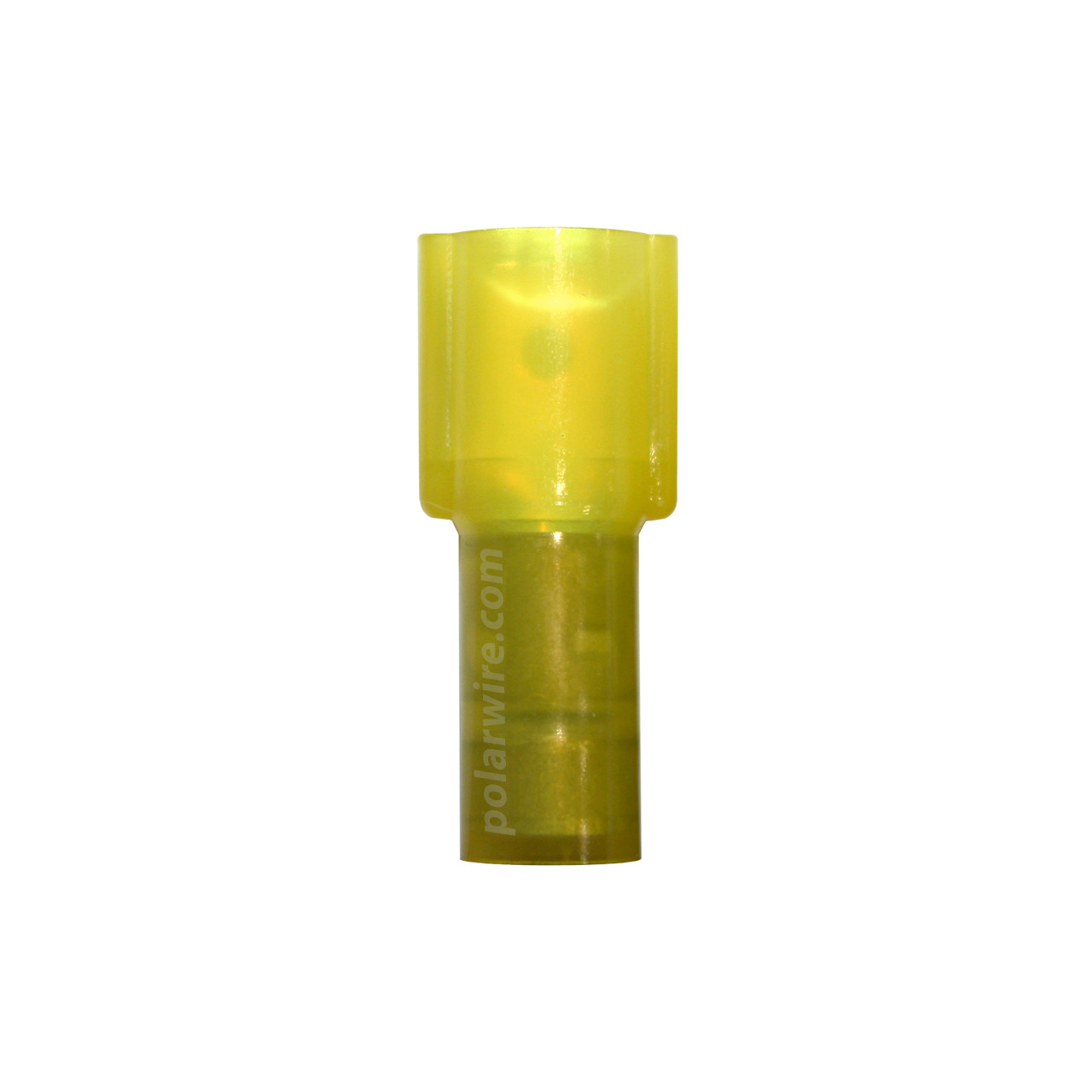 12-10 gauge fully insulated nylon insulated quick slide, male, .250 tab 25 pack