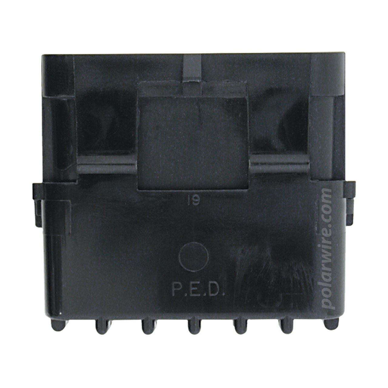 WEATHER PACK 6 PIN MALE SHROUD HOUSING
