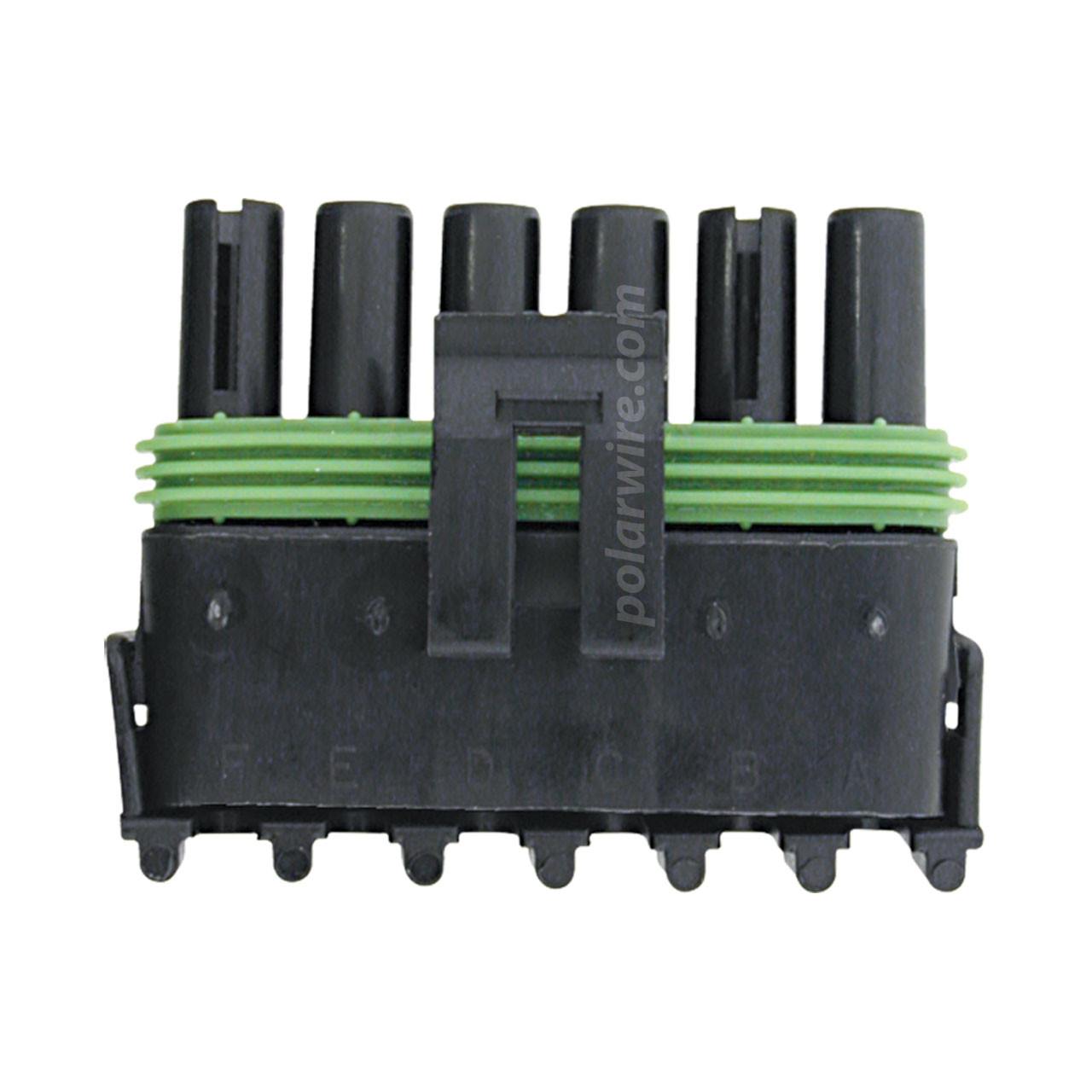 WEATHER PACK 6 PIN FEMALE  TOWER HOUSING
