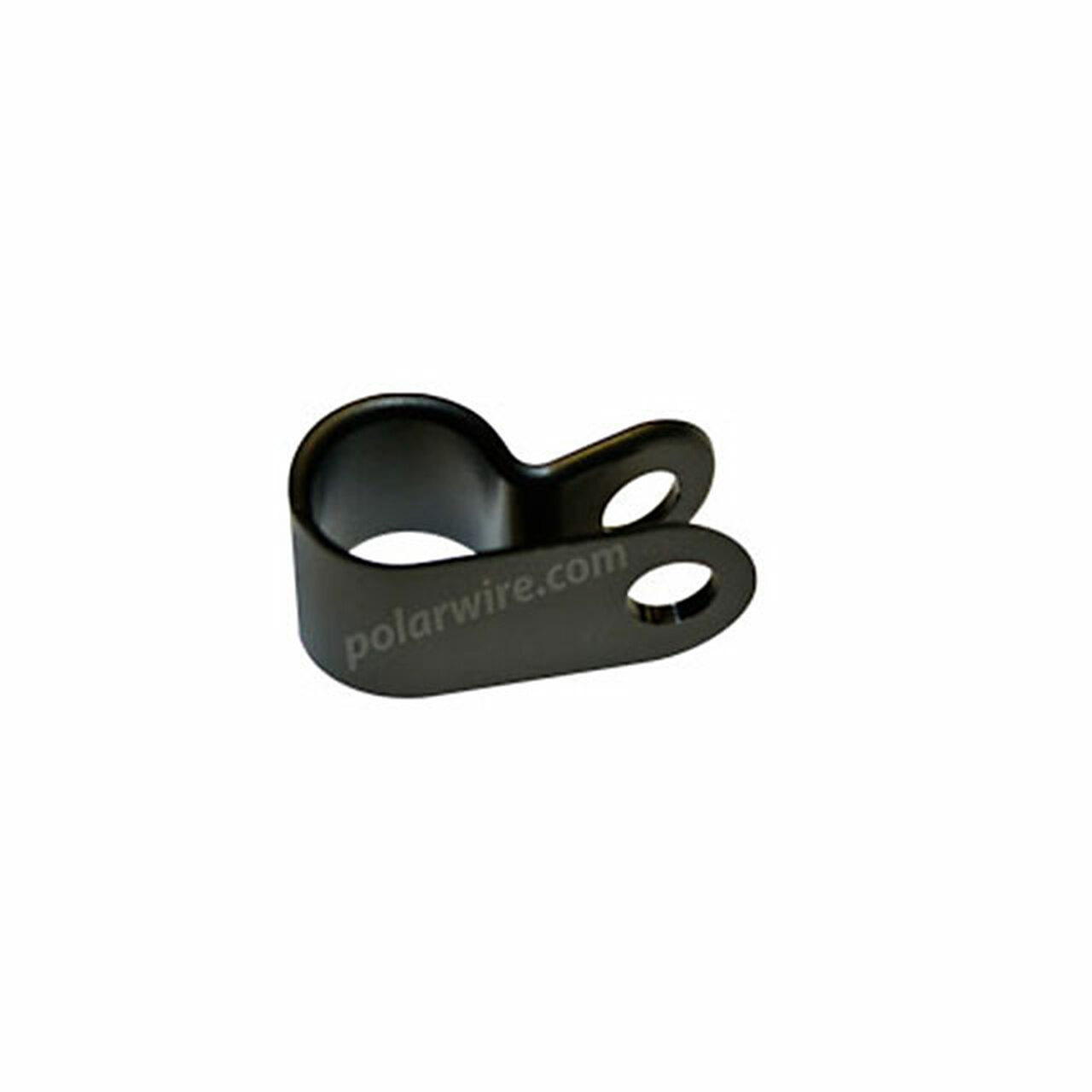"CABLE CLAMP NYLON 1/4"" BK #8 Screw"