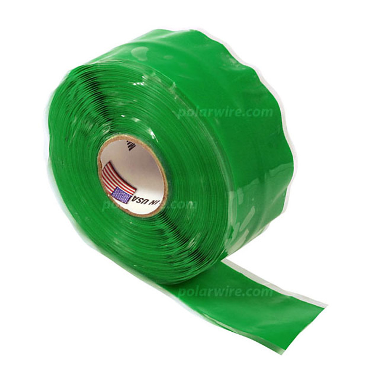 Wrap 'n Seal self fusing silicone tape forms a permanent moisture tight seal