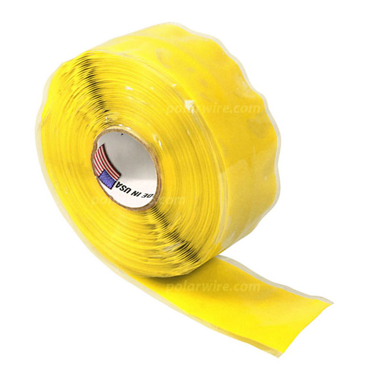 TAPE SILICONE YELLOW 1X20'