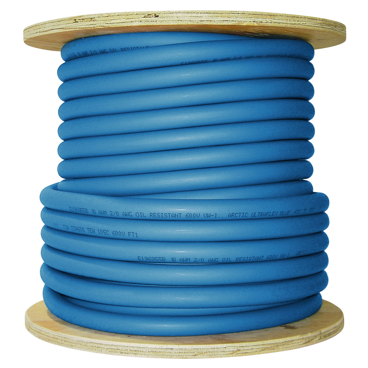 ARCTIC ULTRAFLEX 2/0 BLUE 100 FOOT ROLL
