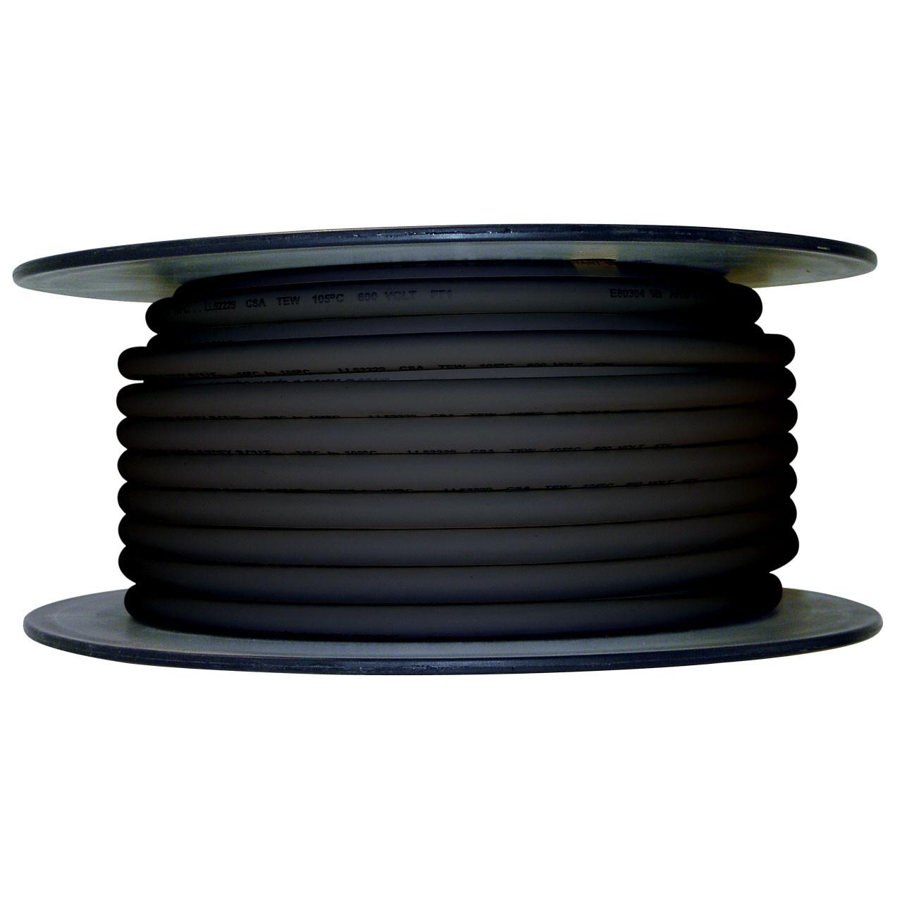 ARCTIC ULTRAFLEX 4GA BLACK 100 FOOT ROLL