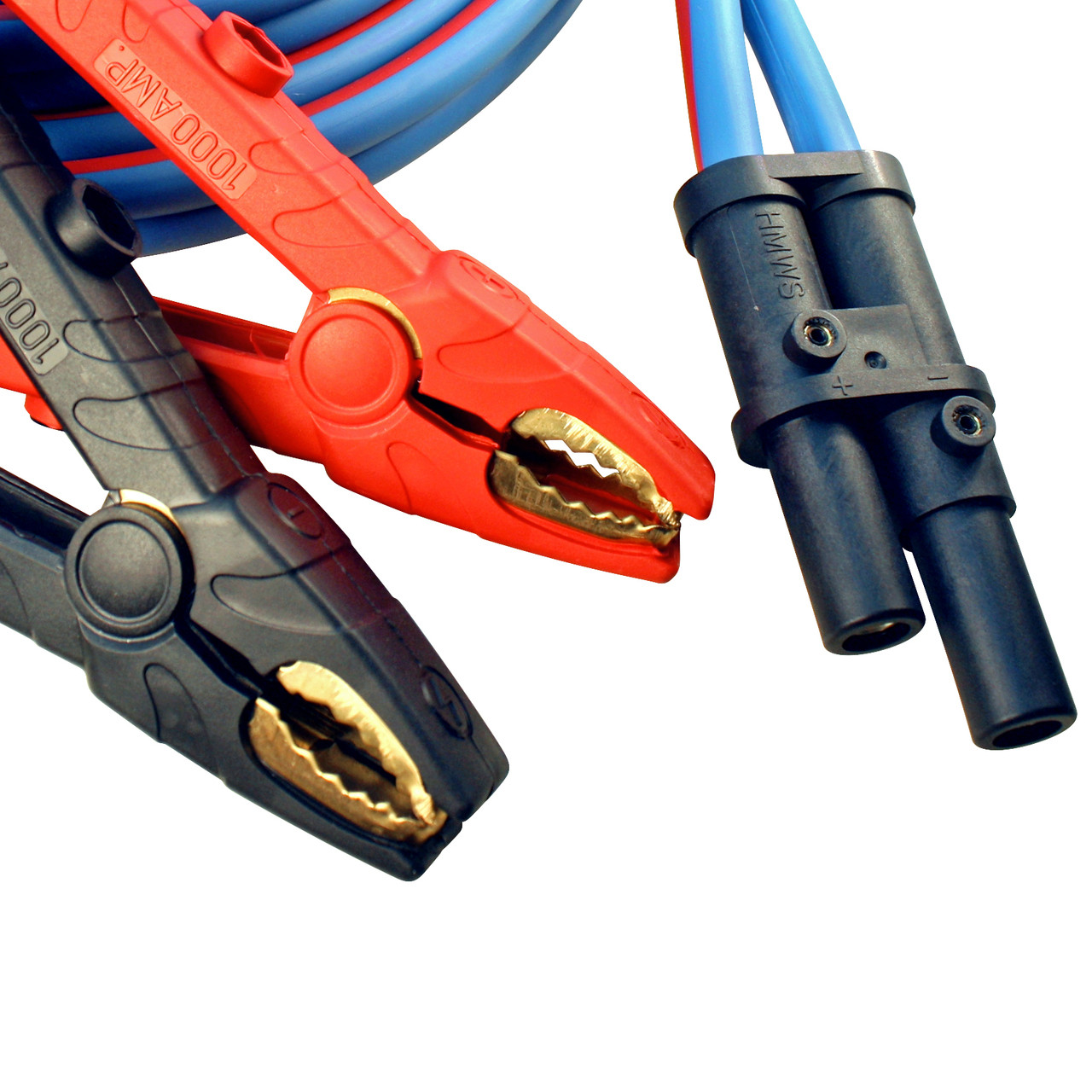 Polar Wire makes the best jump start cables available anywhere! 1/0 gauge, 30 foot heavy duty start cable with J-1283 plug connector
