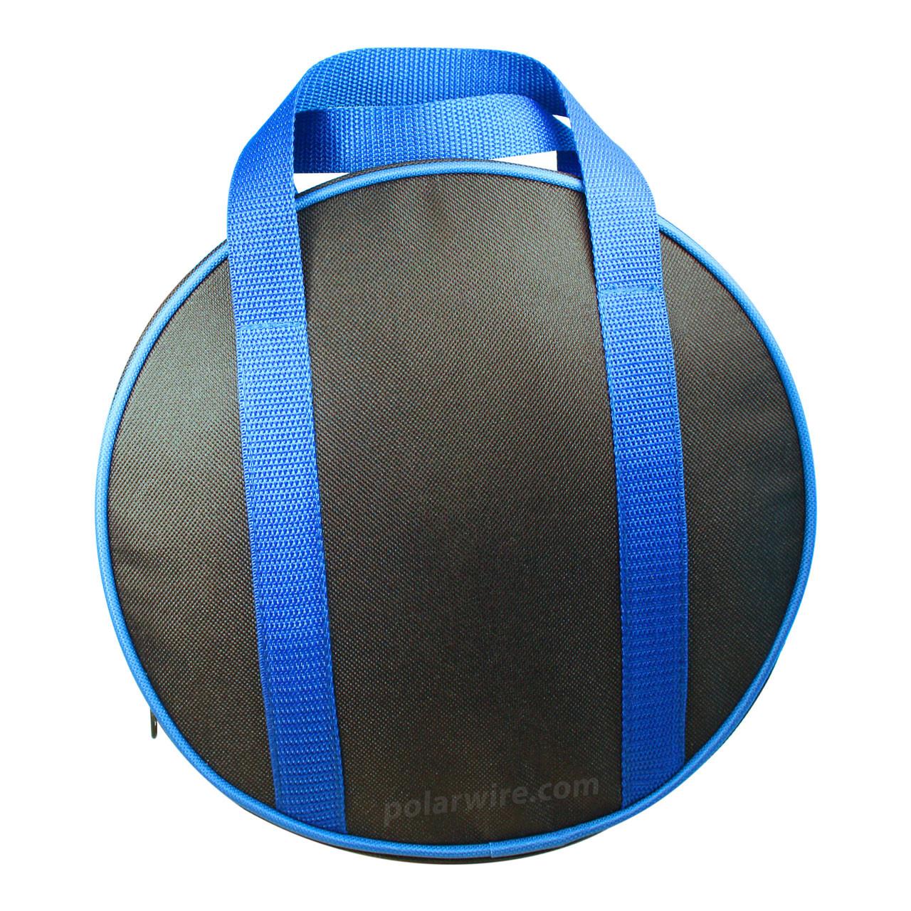 Medium jumper cable bag stows Arctic Superflex Blue 6 guage ATV/UTV jumper cables comfortably