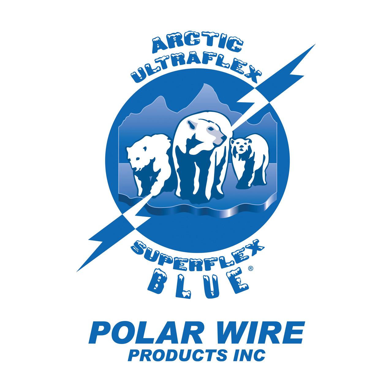 Arctic Ultraflex BlueÌ_ÌÇÌ__Ì_åÇåÎåâÌ_ÌÇåÎÌàÌ_åÇÌ_åä and Arctic Superflex BlueÌ_ÌÇÌ__Ì_åÇåÎåâÌ_ÌÇåÎÌàÌ_åÇÌ_åä 100% copper Class K fine stranded cold weather flexible wire is manufactured exclusively by Polar Wire Products. Made in the USA