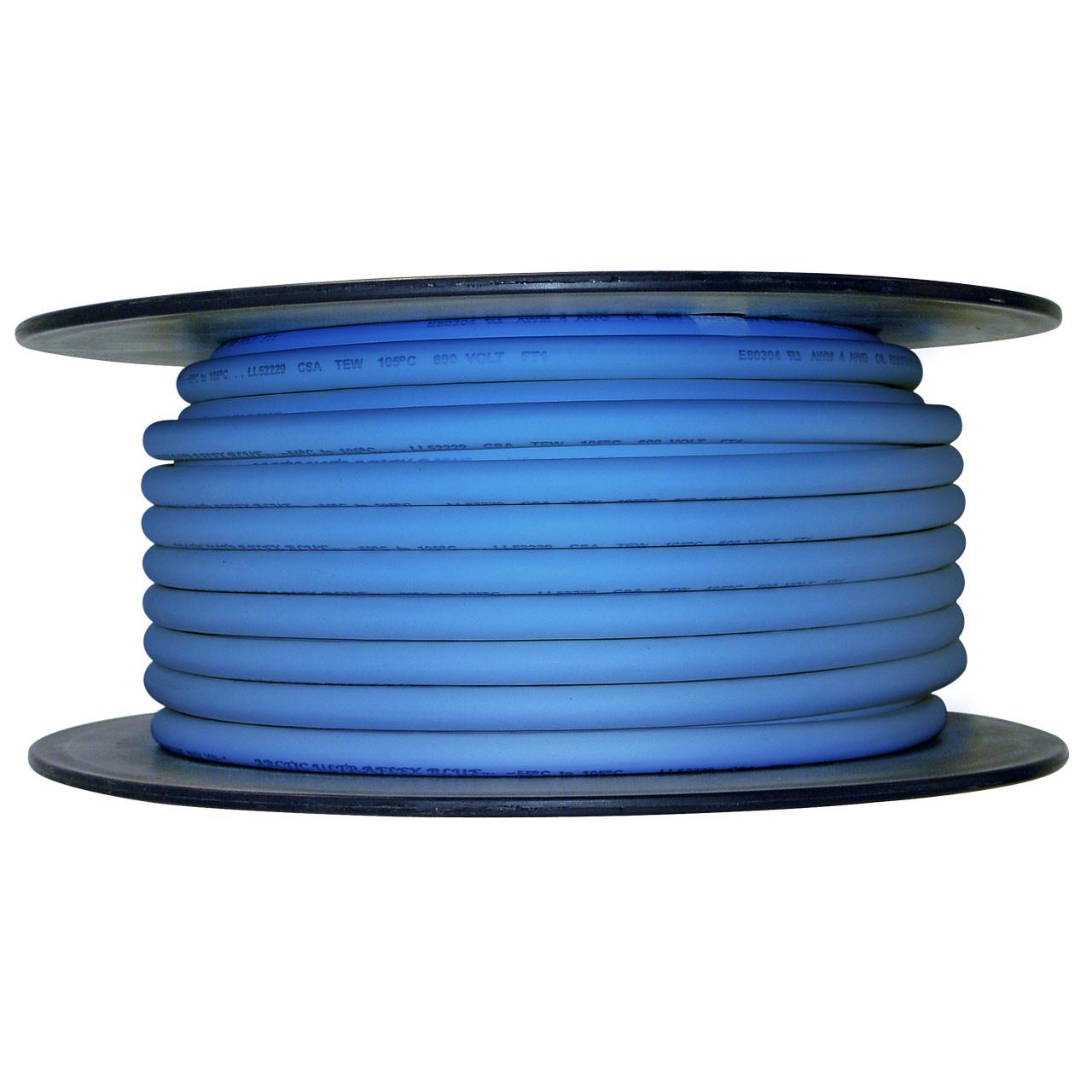 ARCTIC ULTRAFLEX 4GA BLUE 100 FOOT ROLL