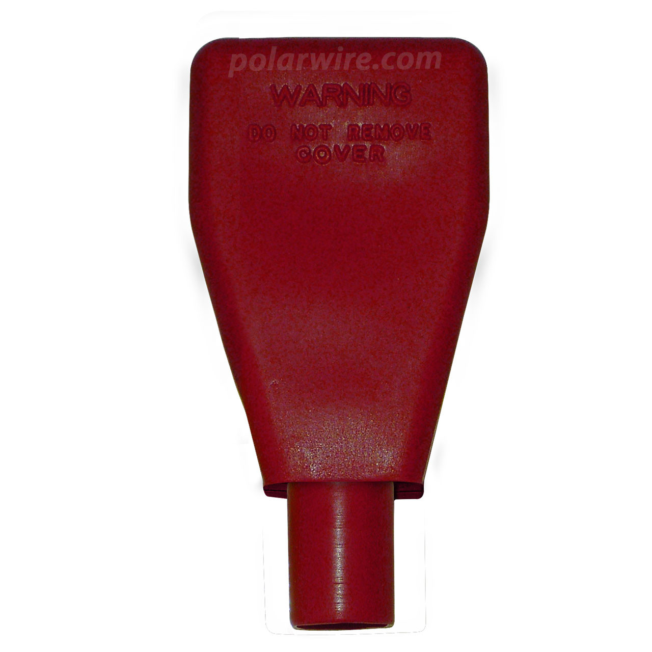 TOP MOUNT 6-4GA RED BATTERY BOOT
