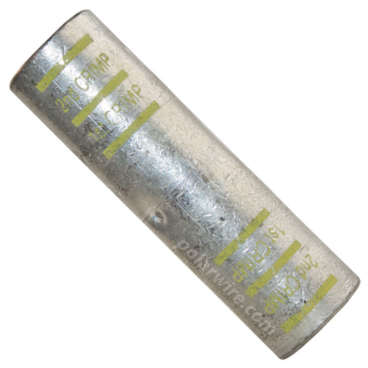POWER SPLICE 4/0 YELLOW PLATED COPPER HEAVY DUTY