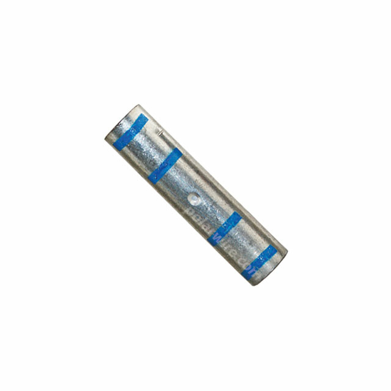 POWER SPLICE 6 GA BLUE  PLATED COPPER HEAVY DUTY