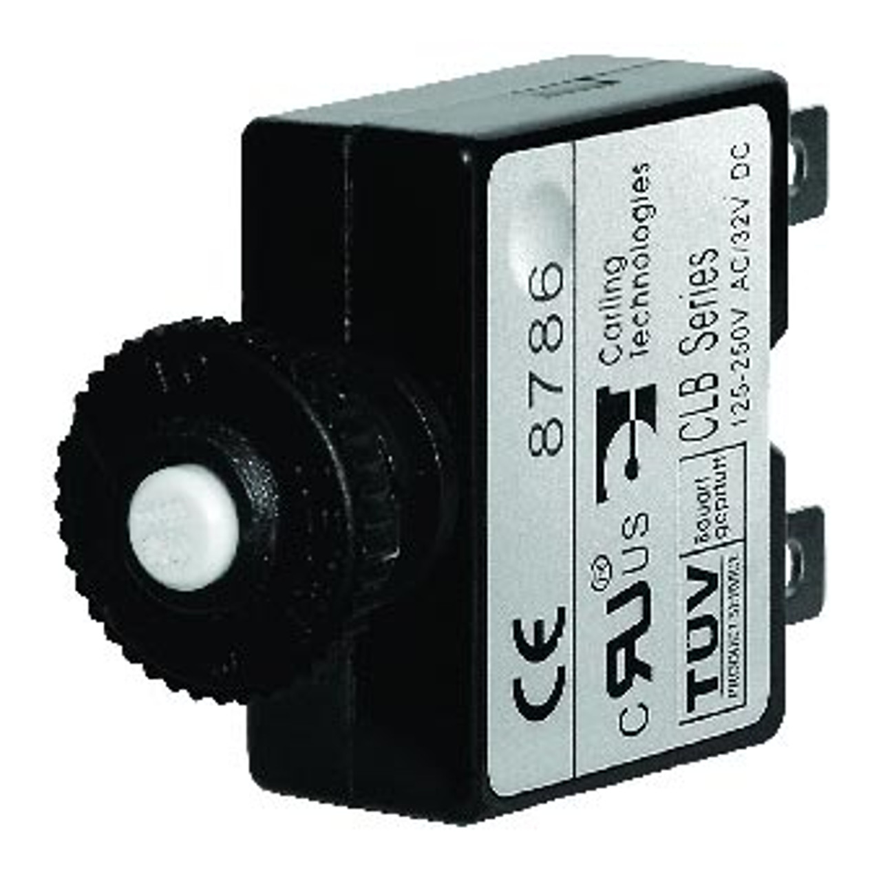 CIRCUIT BREAKER 25 AMP PUSH BUTTON QUICK CONNECT