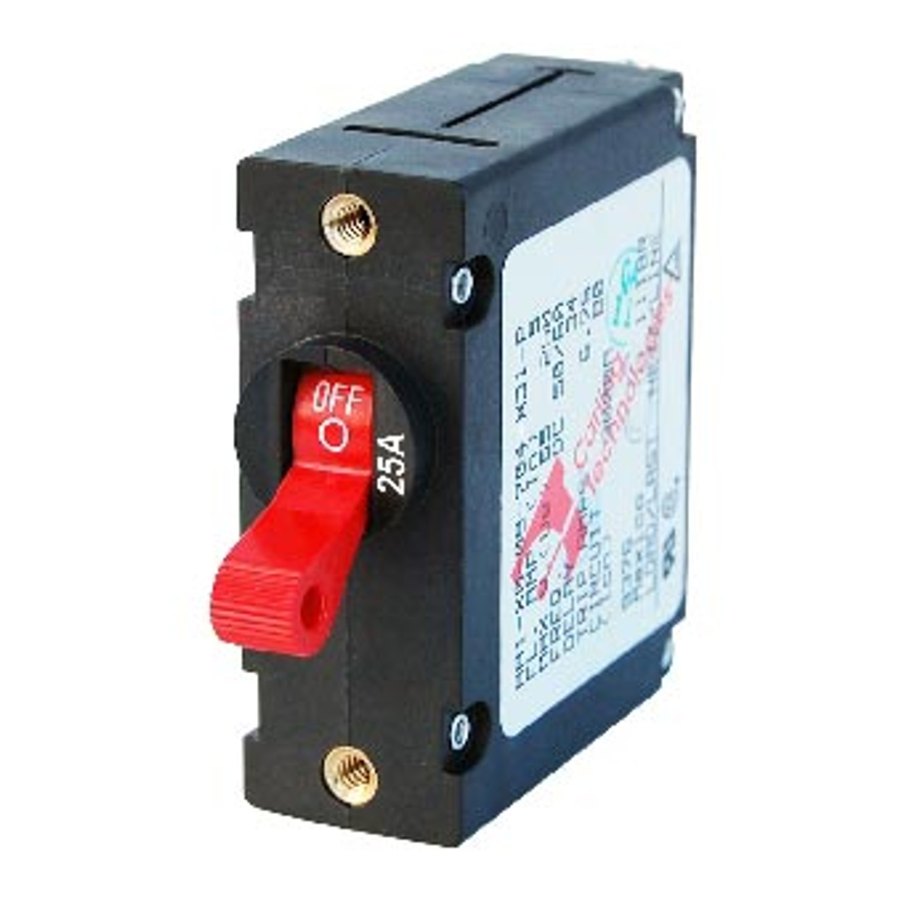 CIRCUIT BREAKER RED 25AMP