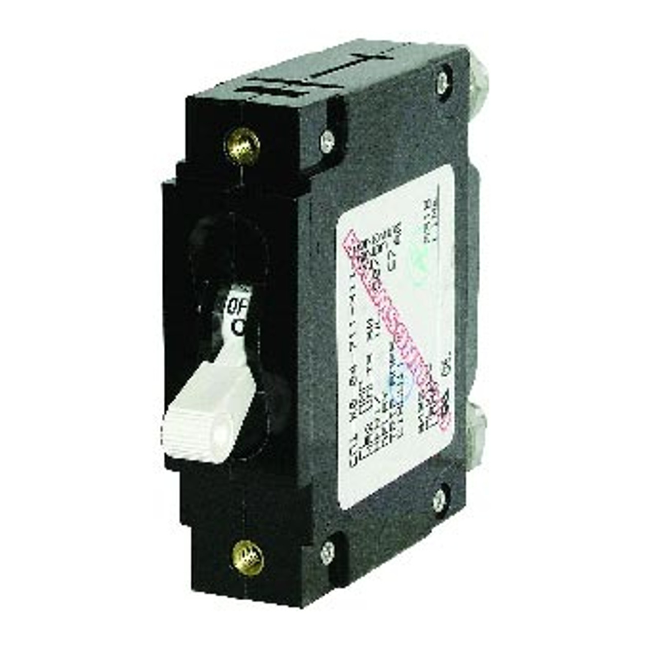 CIRCUIT BRKER WHT 100 AMP SINGLE POLE  AC/DC