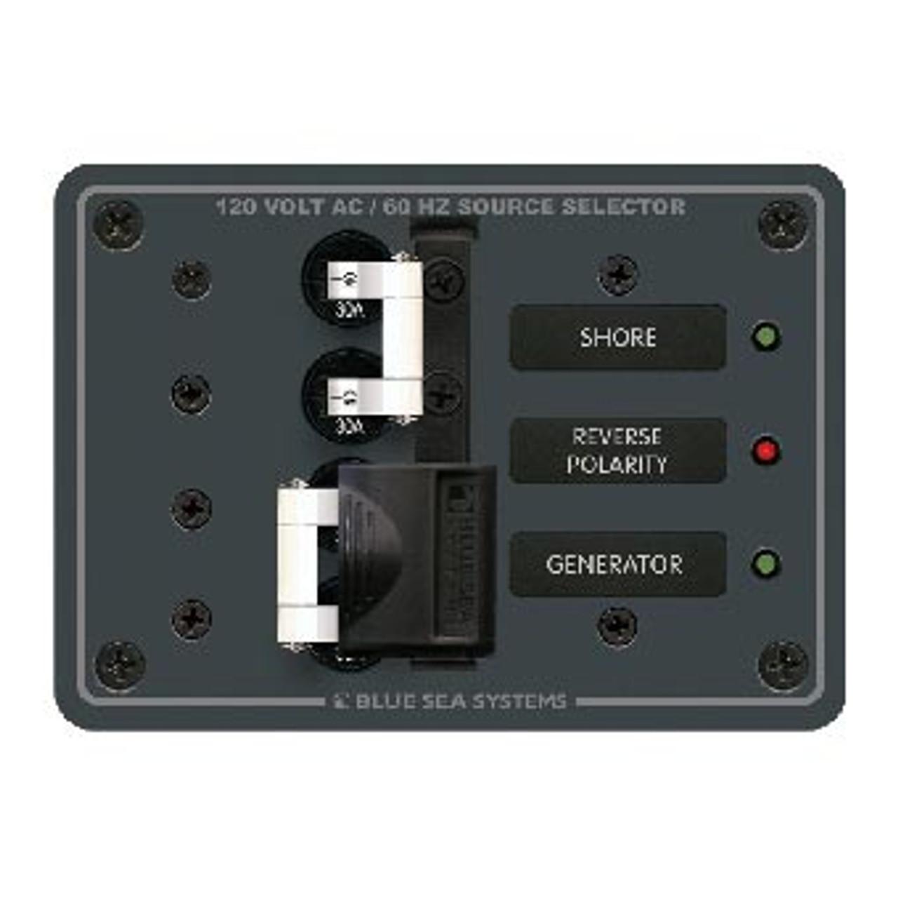 PANEL AC 2 SOURCE 2-MAIN 30 AMP 120V