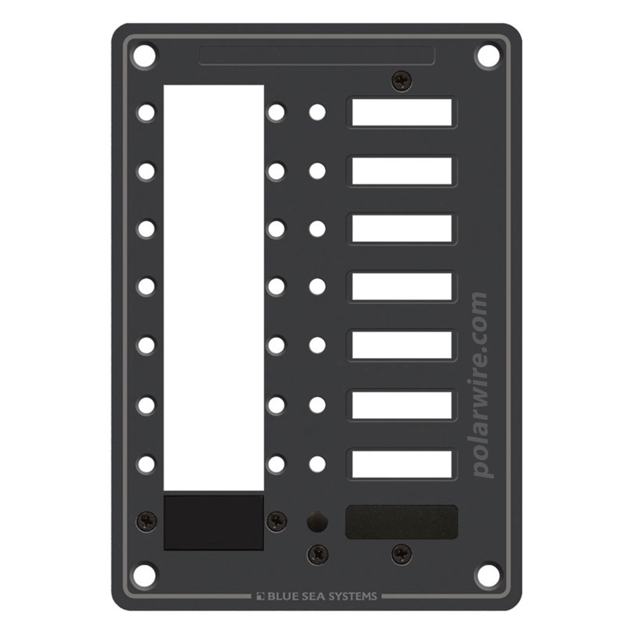 8 POSITION MOUNTING PANEL