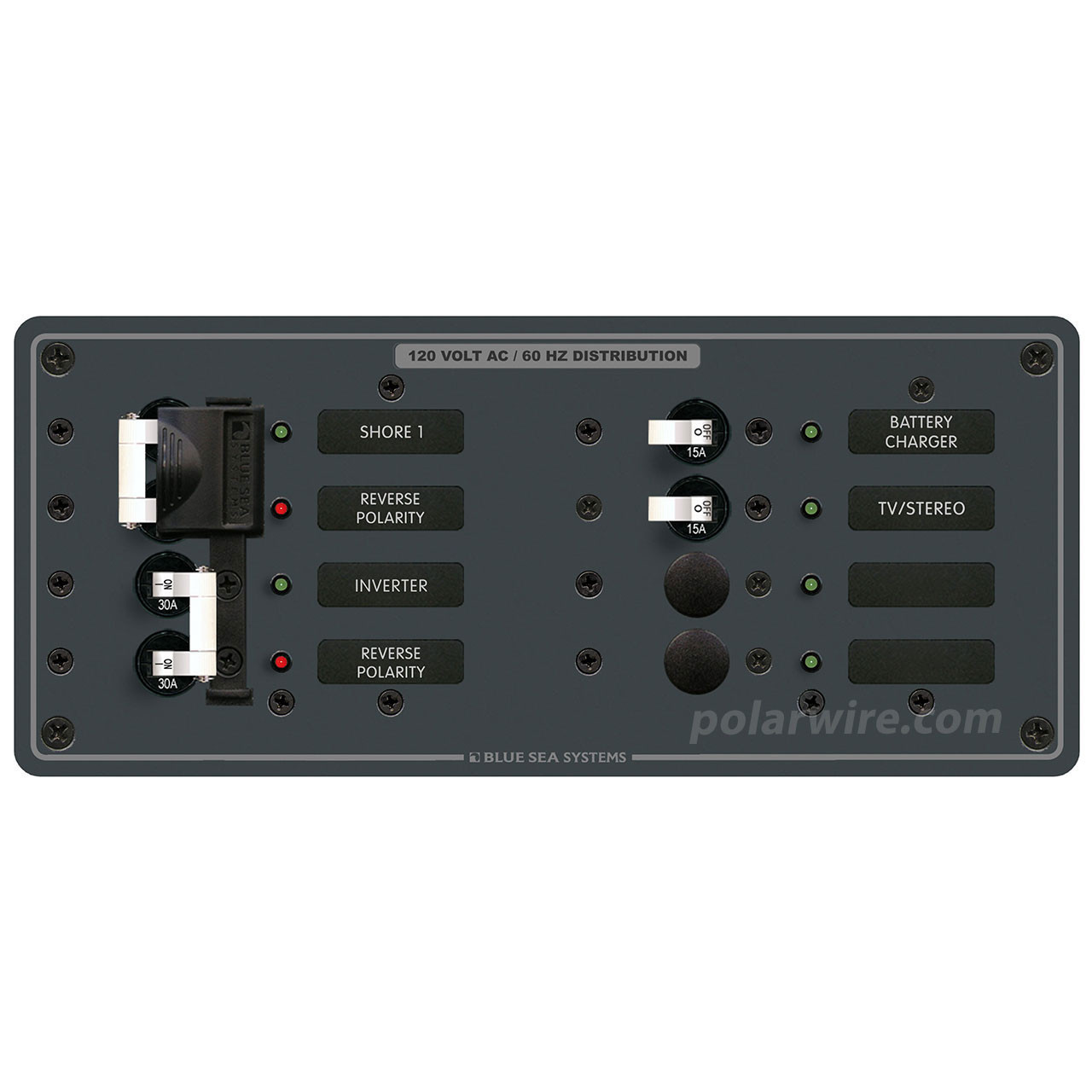 PANEL AC 2 MAIN 2 BRANCH 120 VOLT AC