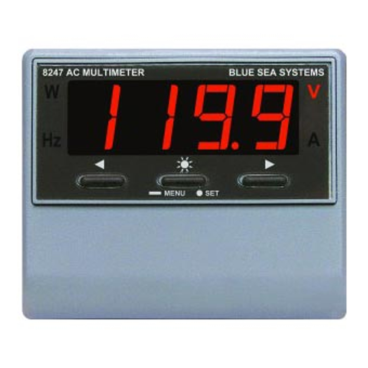 METER DIGITAL A/C W/ALARM MULTI-FUNCTION